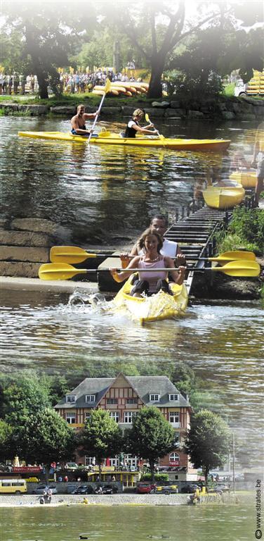 Ardenne Residences fr attraction  kayaks jaunes libert descente de la lesse