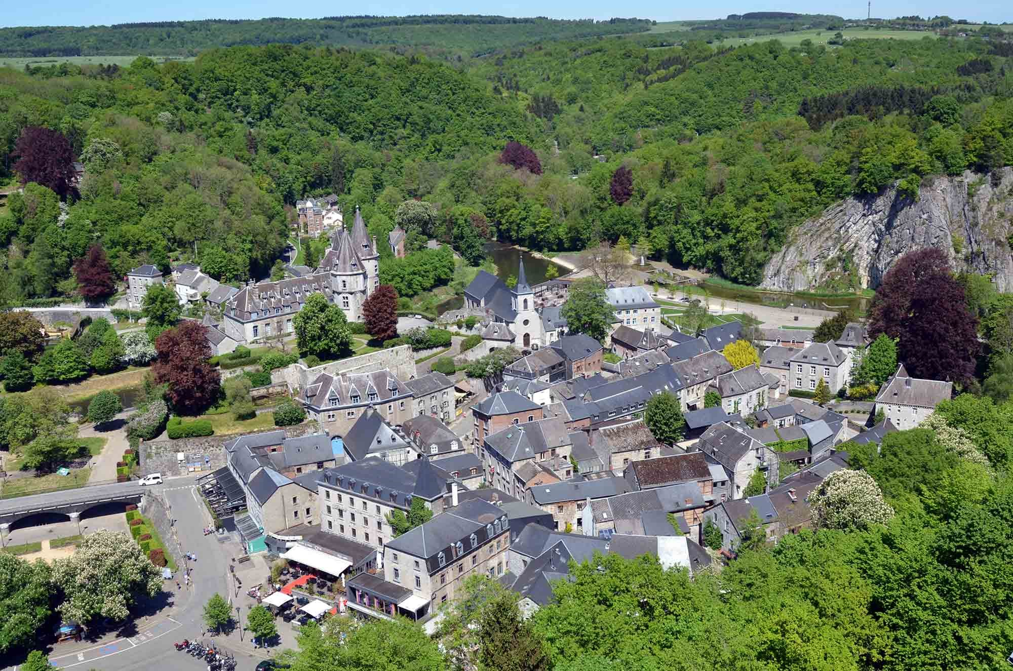 ardenne residences durbuy 6940 region landscapes city aerial image