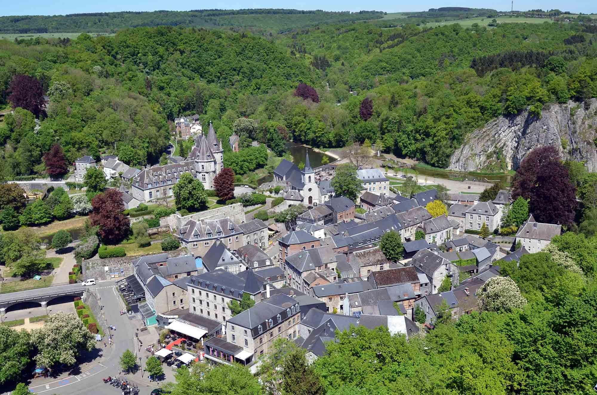 ardenne residences durbuy 6940 region landscapes city aerial image