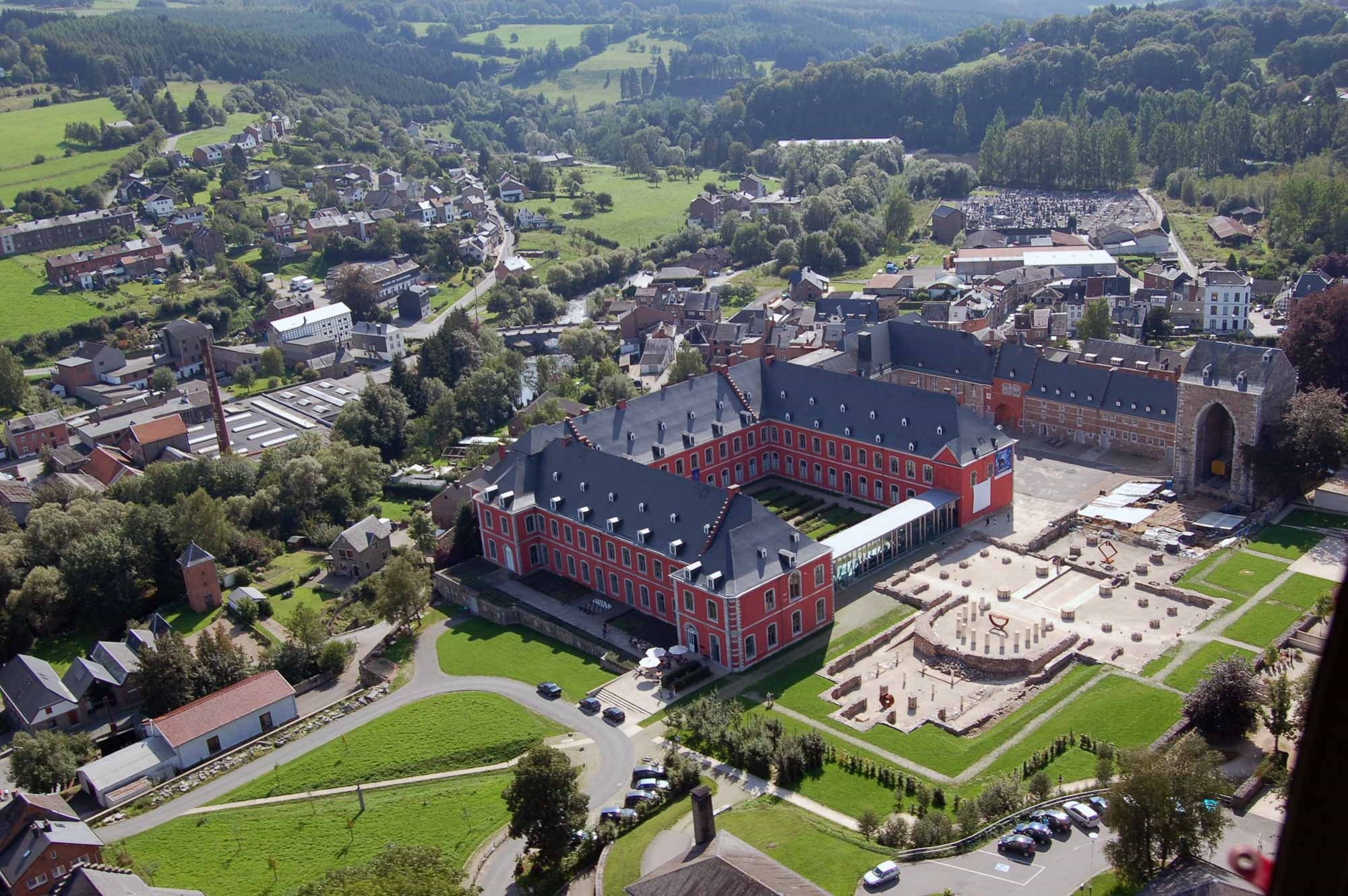 ardenne residences stavelot 4970 region landscapes city aerial view