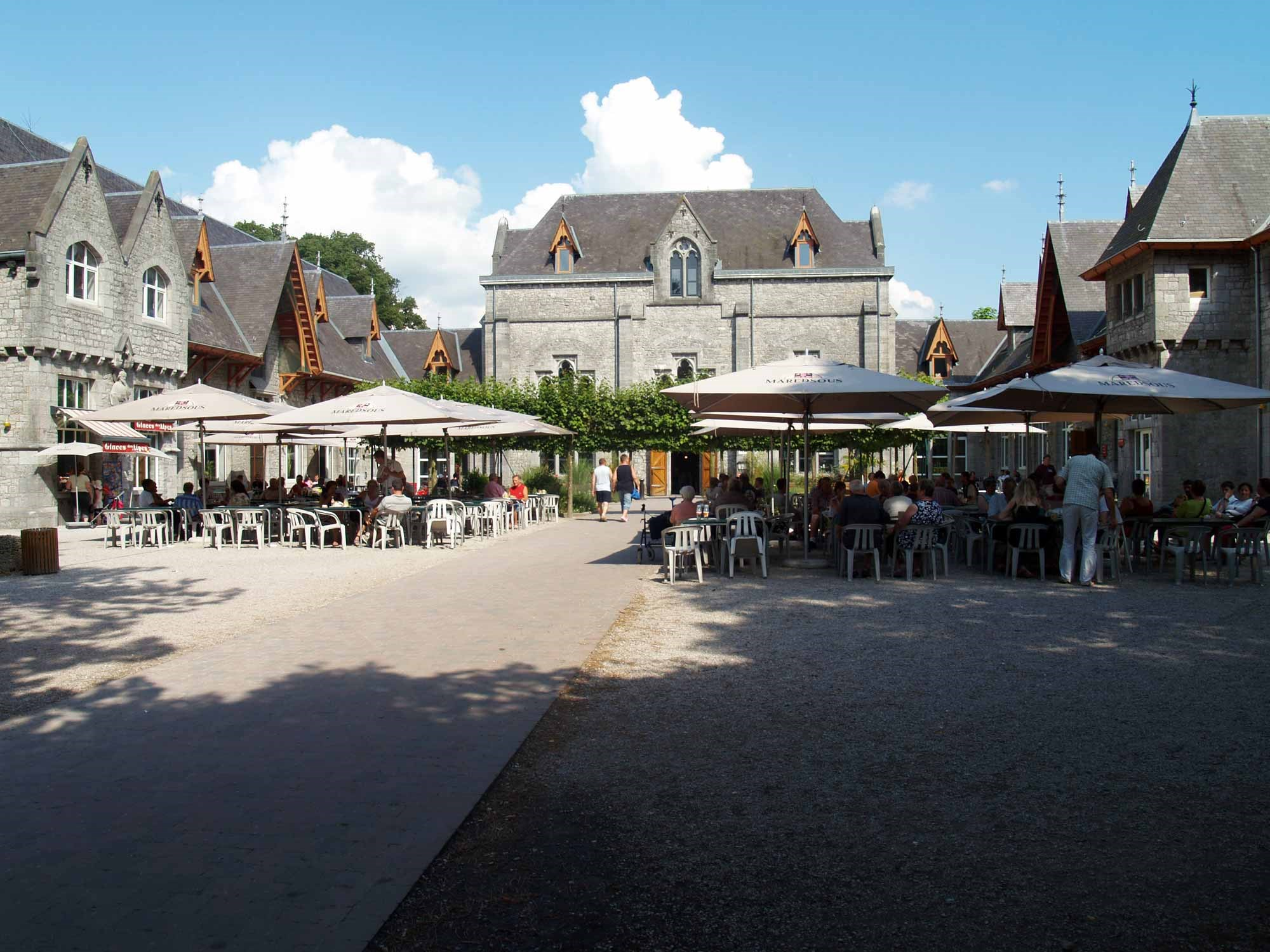 ardenne residences maredsous 5537 region landscapes abbey