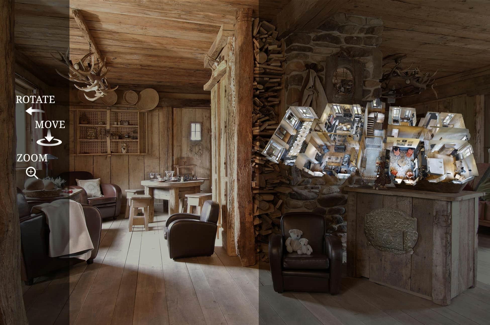 La visite virtuelle 360 au service de la location de vacances en Ardenne belge !