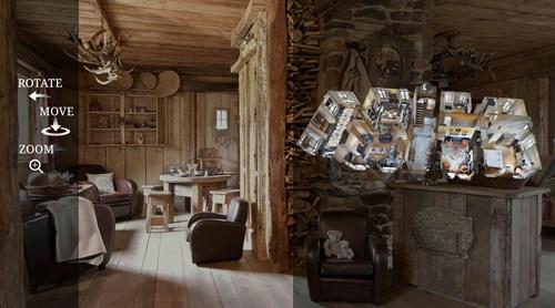 360 graden video, een virtueel bezoek aan uw vakantiewoning in de Ardennen