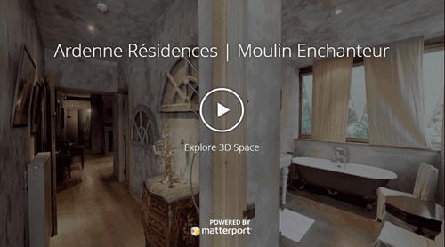 Visite virtuelle 360° des gites en Ardenne : 1 année d''innovation signée Ardenne Résidences